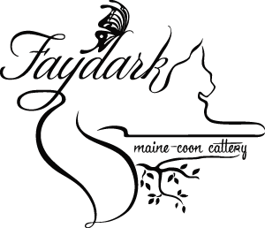 The Faydark Maine-Coon Cattery logo